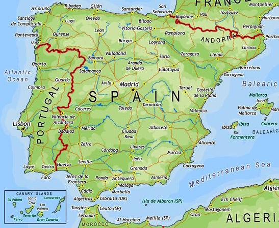 Toledo Spain Map TOLEDO SPAIN MAP   Imsa Kolese Toledo Spain Map
