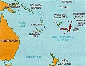 Tonga maps